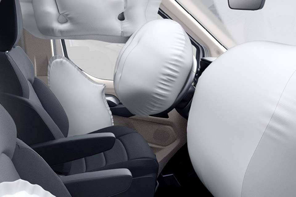 Maxus Deliver 9 mit 6 Airbags