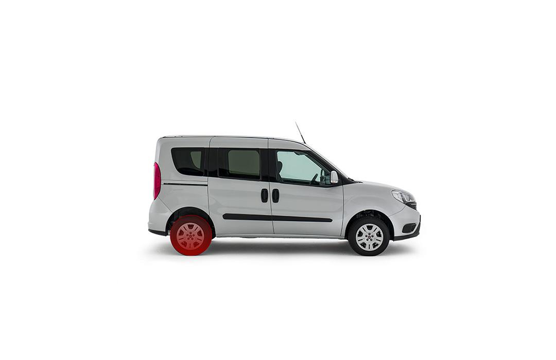 Fiat-Professinal-Doblo-Cargo-Galerie-TPMS-Reifenfülldruck-Sensoren_