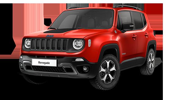 Jeep Renegade 4xe Plug-In Hybrid Trailhawk