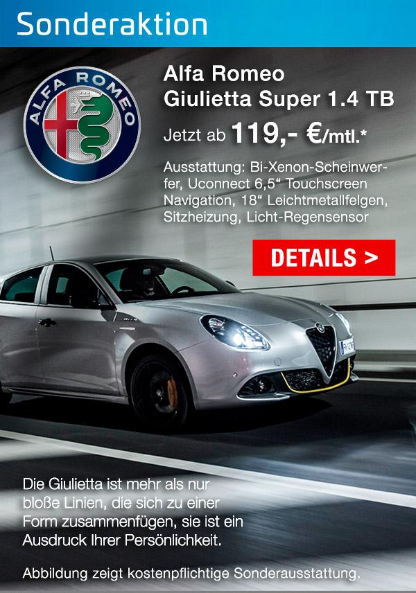 Alfa Romeo Giuliette bei P&A / Preckel