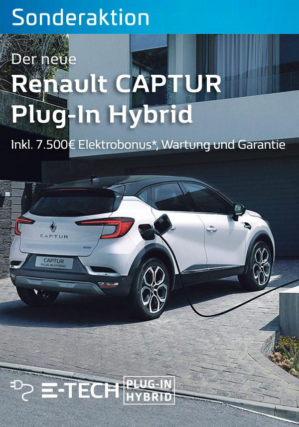 Der Renault Captur Plugin Hybrid bei P&A/Preckel