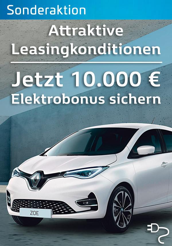 Der Renault ZOE - 100% Electro