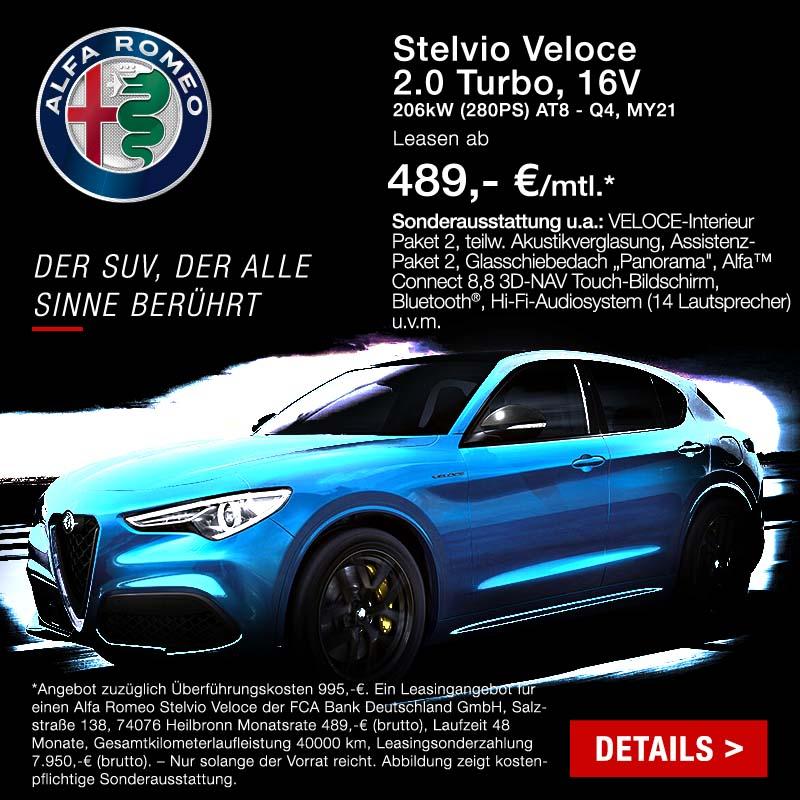 Alfa Romeo Stelvio günstig bei Preckel Automobile