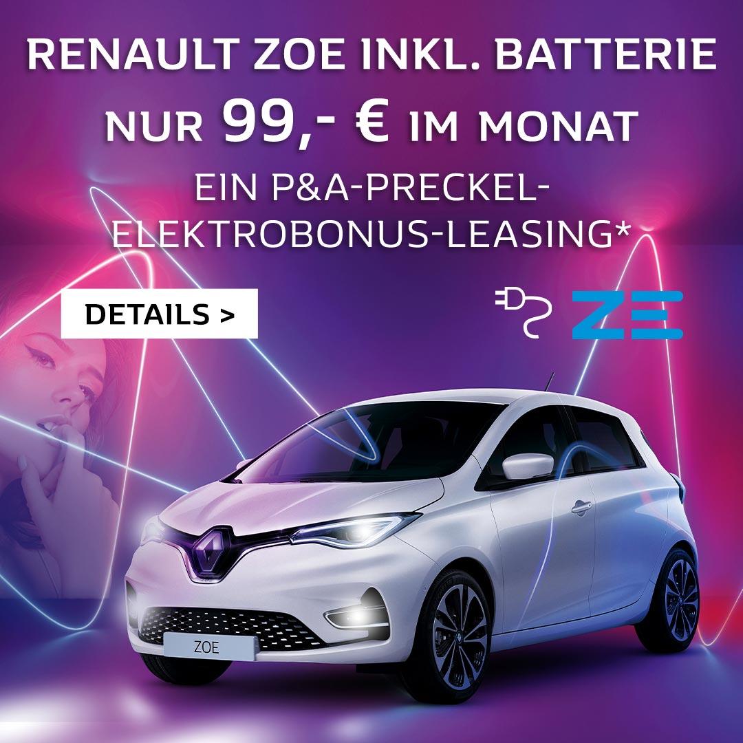 Autozentrum P&A Renault Zoe