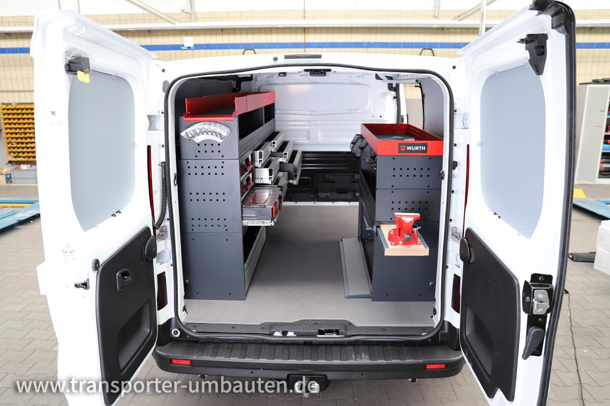 Transporter mit Würth Ausbau vom Autozentrum P&A-Preckel