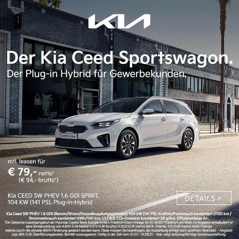 Kia X-Ceed Plugin-Hybrid bei Autozentrum P&A Preckel