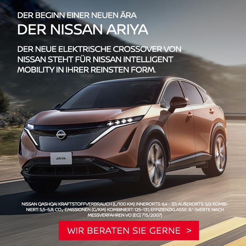 Nissan Ariya bei Autozentrum P&A Preckel