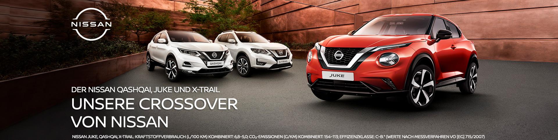 Nissan Crossover Autozentren P&A-Preckel