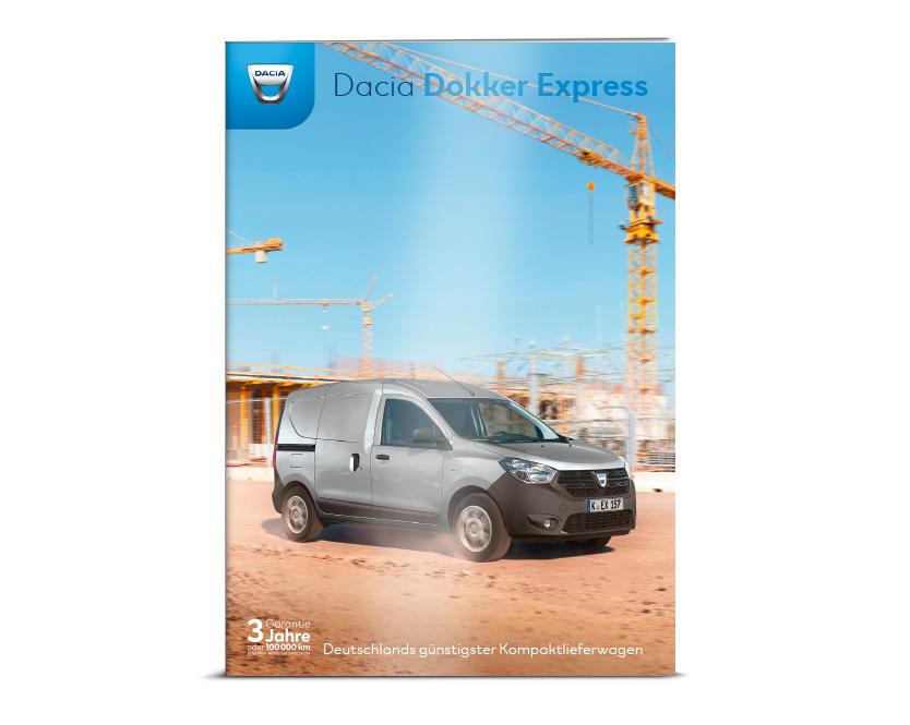 Dacia Dokker Broschüre und Preisliste