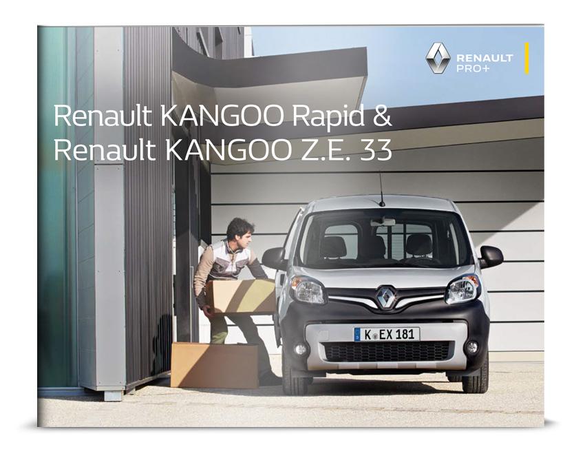 Renault Kangoo Rapid Broschüre und Preisliste