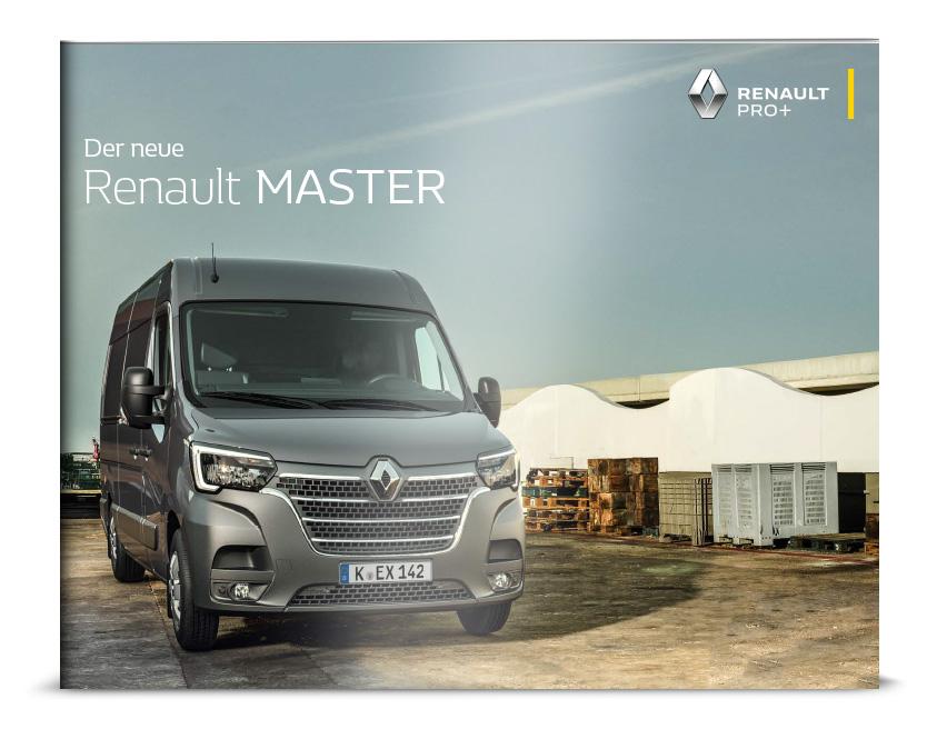Broschüre Renault Master