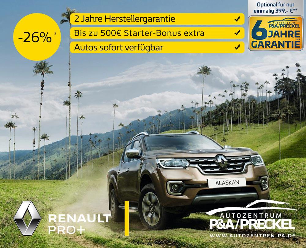 Renault Alaskan Transporter Angebot
