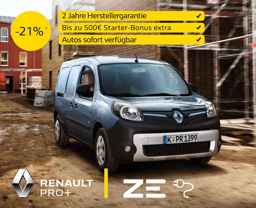 Renault Kangoo Z.E. Elektro kaufen