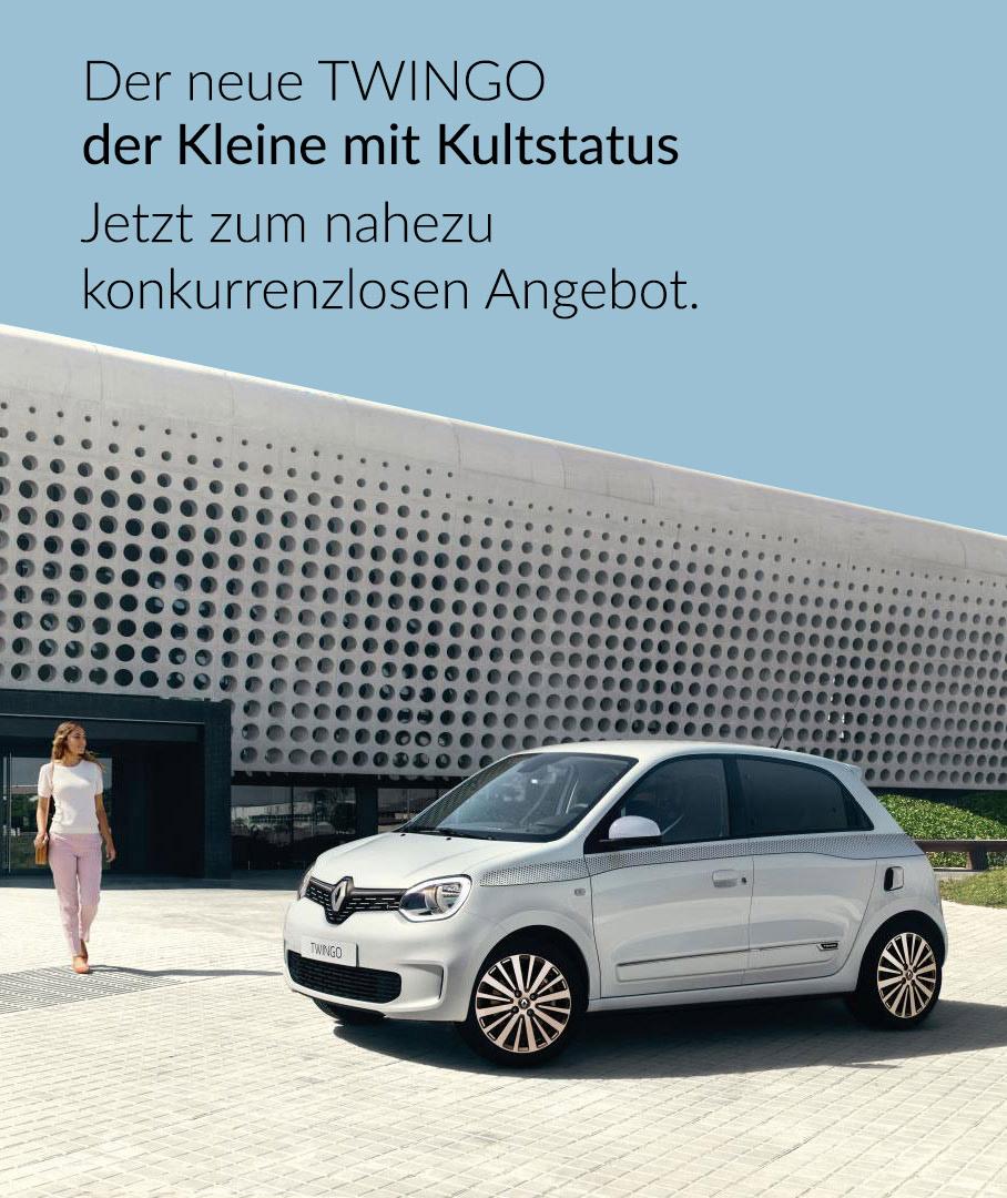 Renault Twingo zum nahezu konkurrenzlosen Angebot