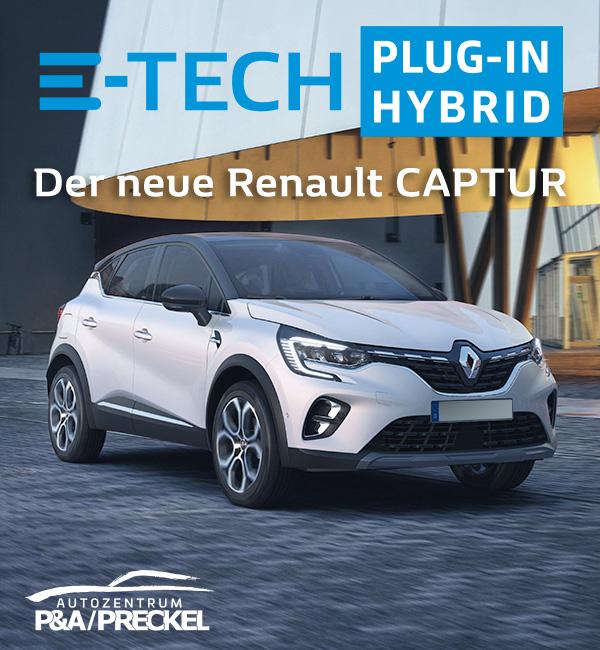 Der neue Renault CAPTUR Plug-In Hybrid