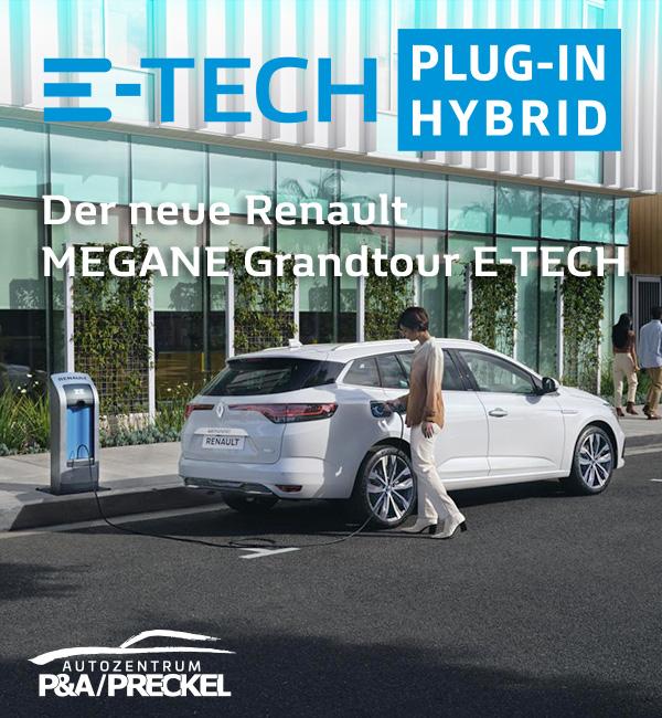 Renault Megane Grandtour E-Tech Plugin-Hybrid