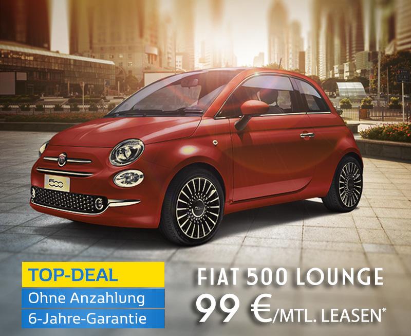Fiat 500 Privatkunden Leasing inkl. 6-Jahre-P&A/Preckel-Garantie