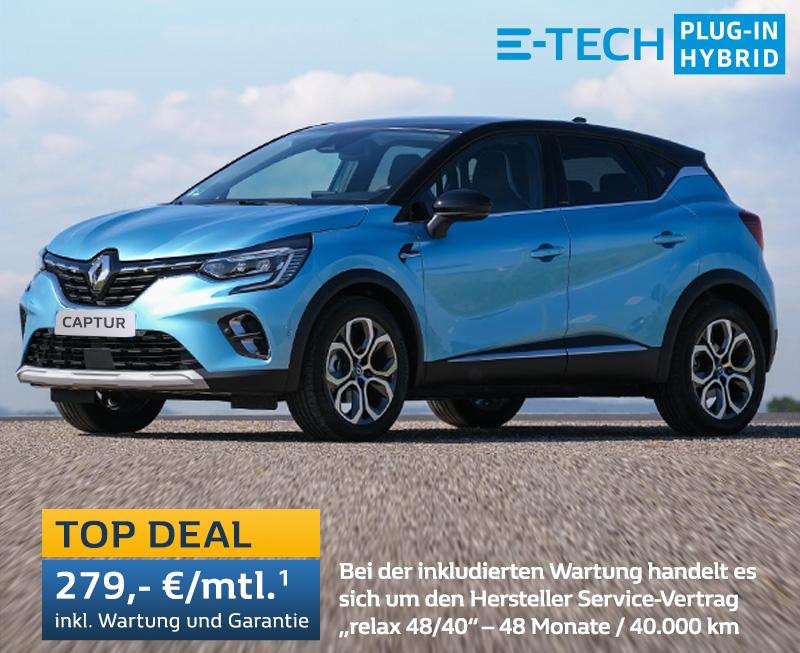 TOP DEAL Renault CAPTUR E-TECH Plug-In Hybrid
