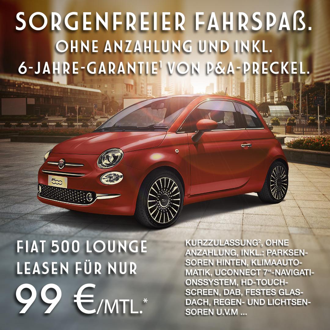 Fiat 500 Privatleasing Angebot