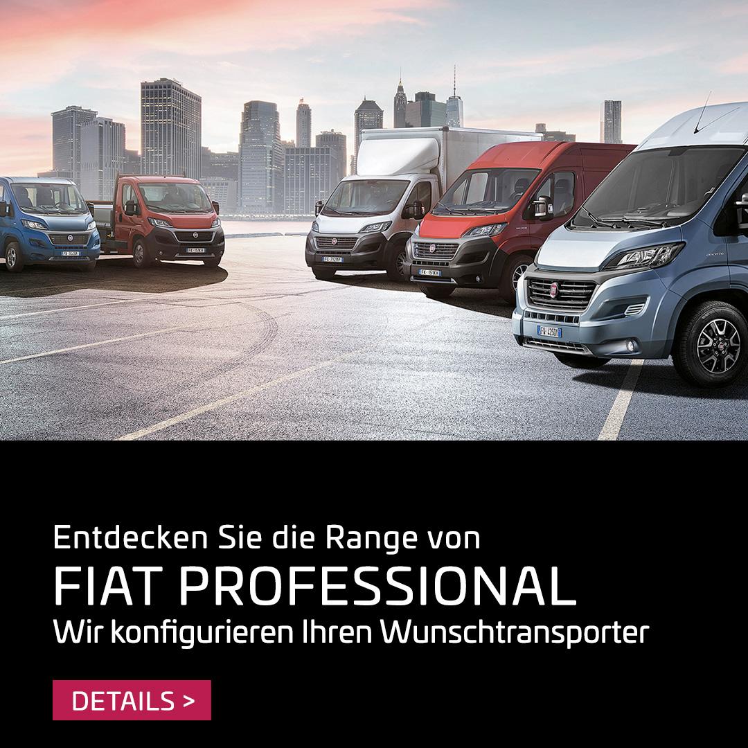 Entdecken Sie die Fiat Professional Range