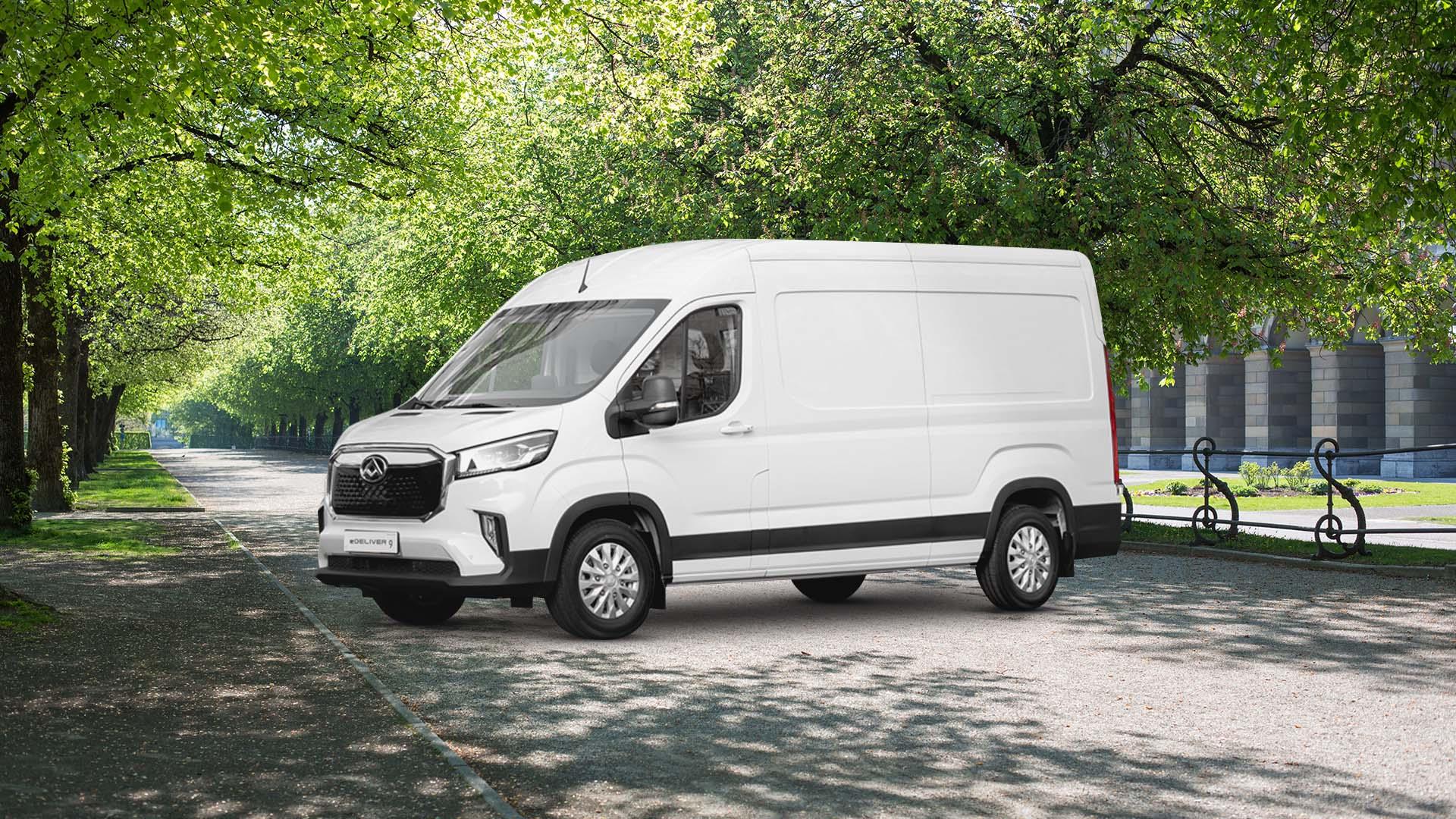Maxus eDeliver 9 100% elektrisch von Preckel Automobile