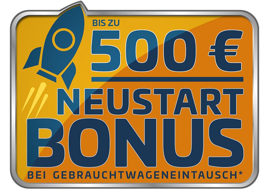 Neustart-Bonus bei Gebrauchtwageneintausch