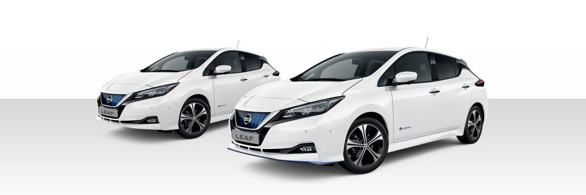 Nissan Leaf Arctic Solid White