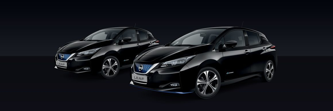 Nissan Leaf Black Metallic