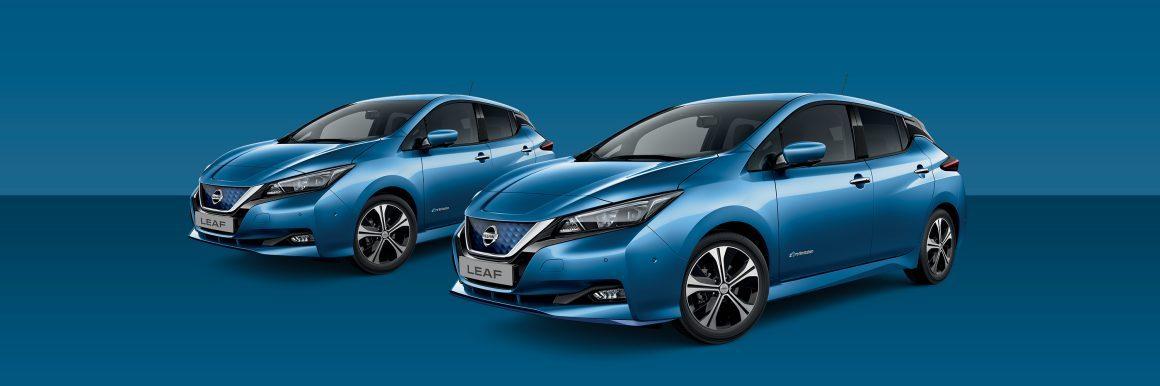 Nissan Leaf Blue Metallic
