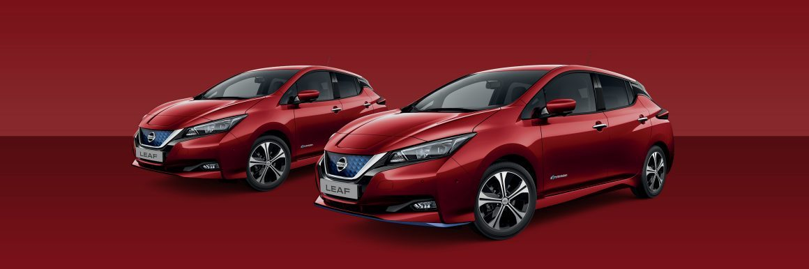 Nissan Leaf Magnetic Red Metallic