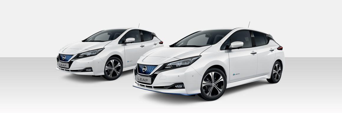 Nissan Leaf Pearl White