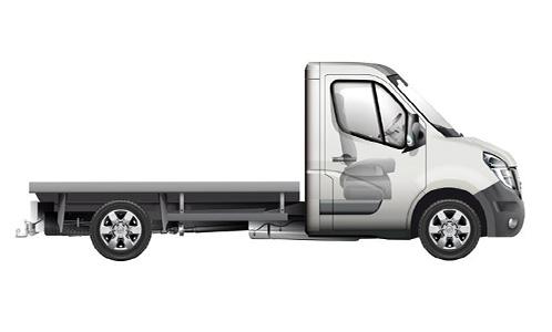Nissan NV400 Fahrgestell Autozentren P&A-Preckel