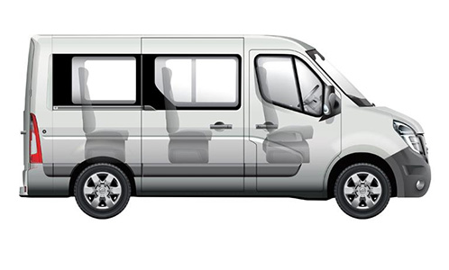 Nissan NV400 Kombi Autozentren P&A-Preckel