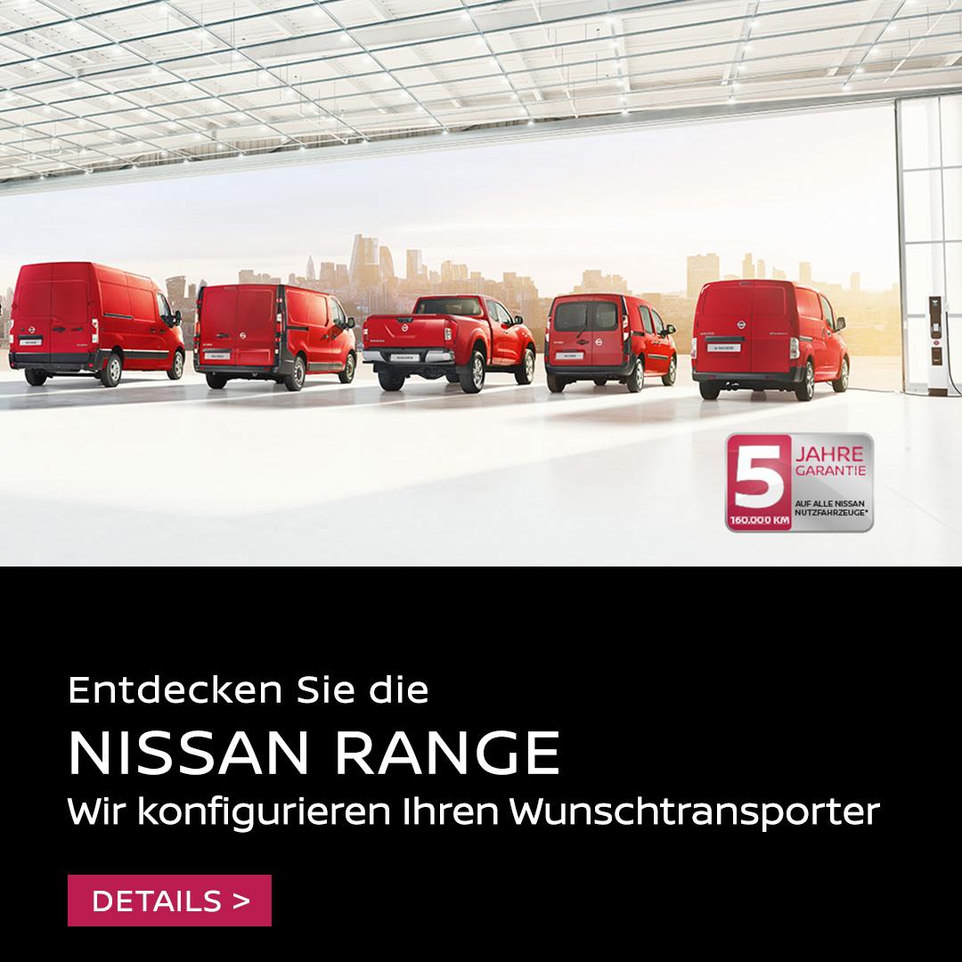 Endecken Sie die Nissan Range