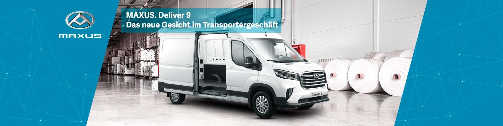 Maxus Deliver 9 günstig bei Preckel Autozentrum