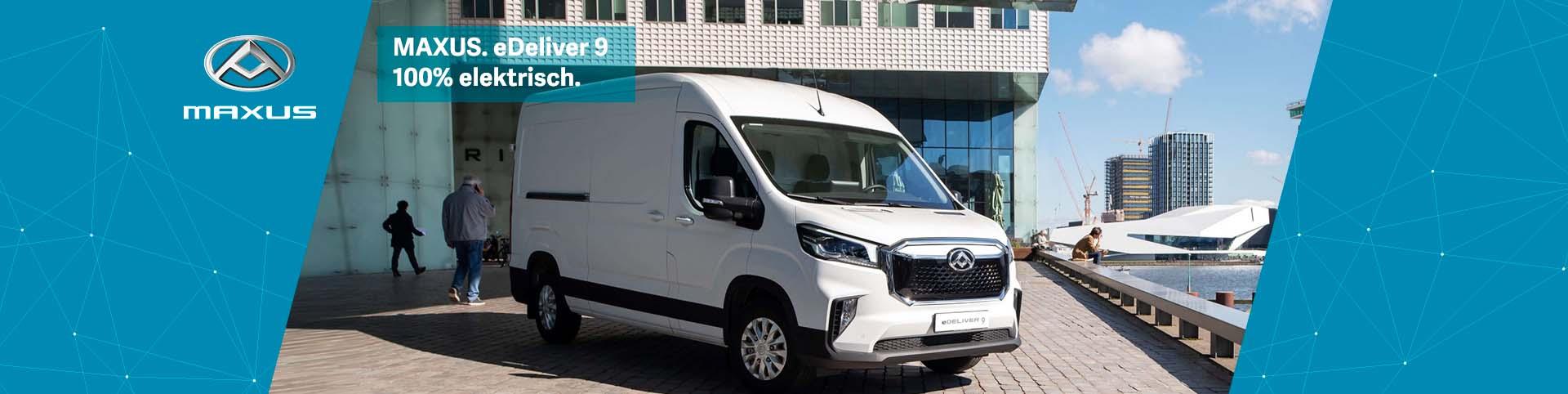 Maxus eDeliver 9 – 100% elektrisches Nutzfahrzeug günstig bei Preckel Autozentrum