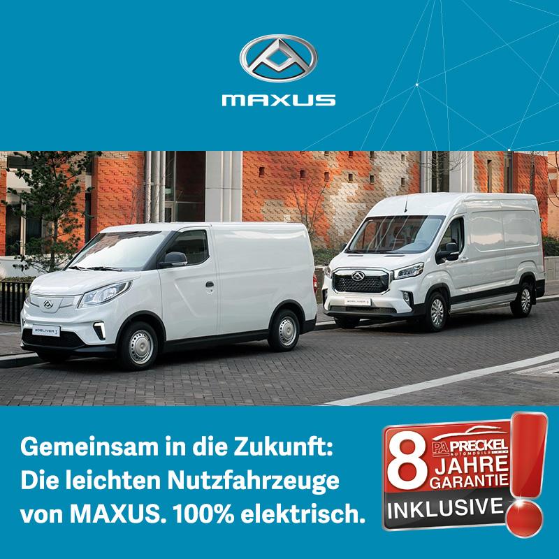 Maxus Elektrische Nutzfahrzeuge günstig bei Preckel Automobile