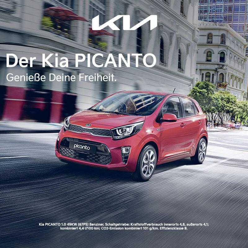 KIA Picanto kaufen, leasen, finanzieren bei Preckel Autozentrum