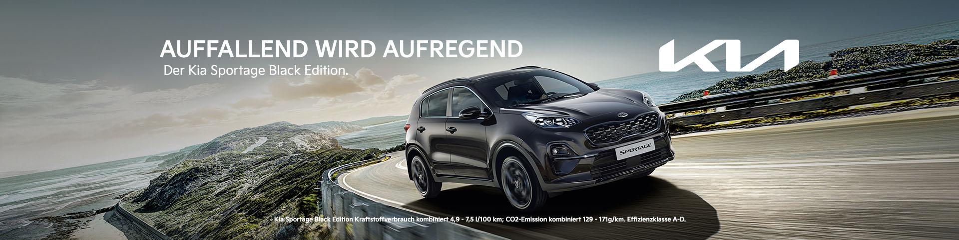Kia Sportage Black Edition bei Preckel Automobile