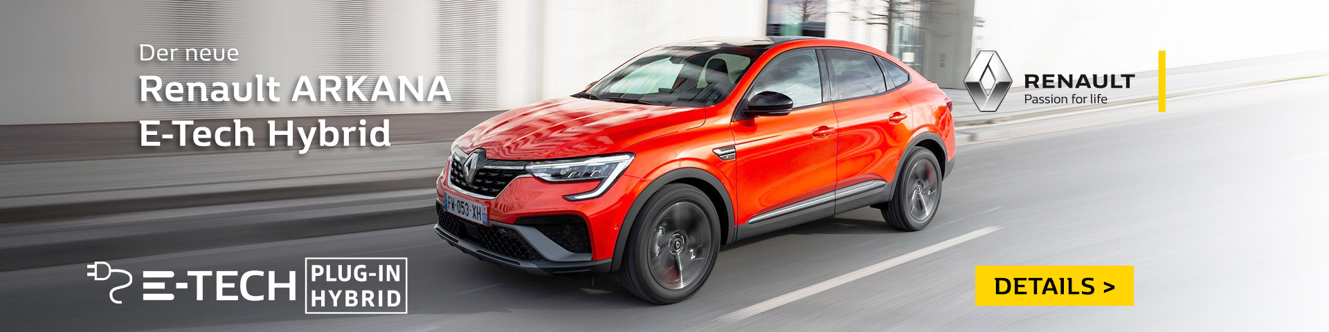 Renault Arkana als E-Tech Hybrid bei Autohaus P&A Preckel