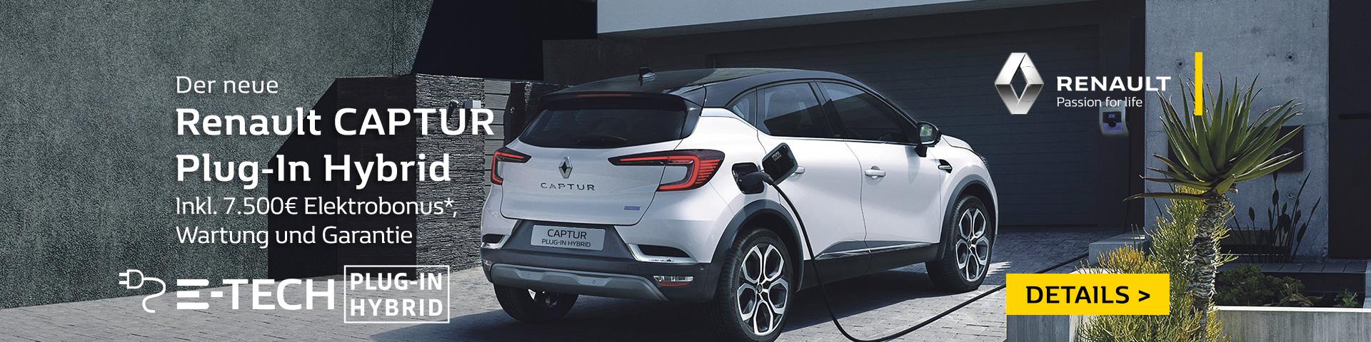 Autozentrum P&A Renault Captur Hybrid