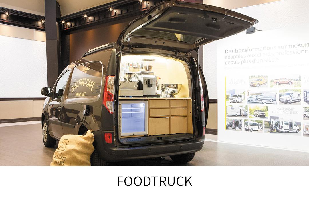 Rnault Kangoo Rapid Foodtruck
