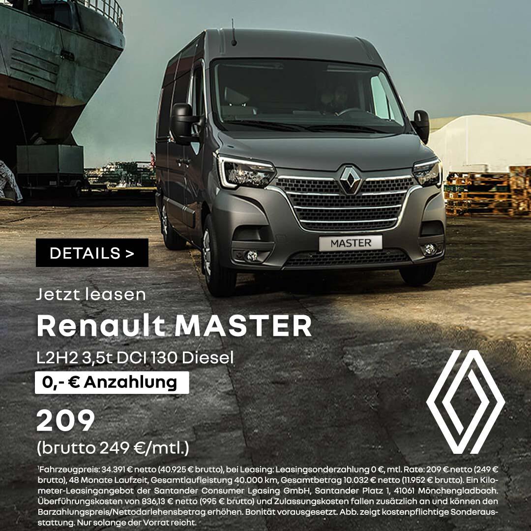 Renault Master Leasing