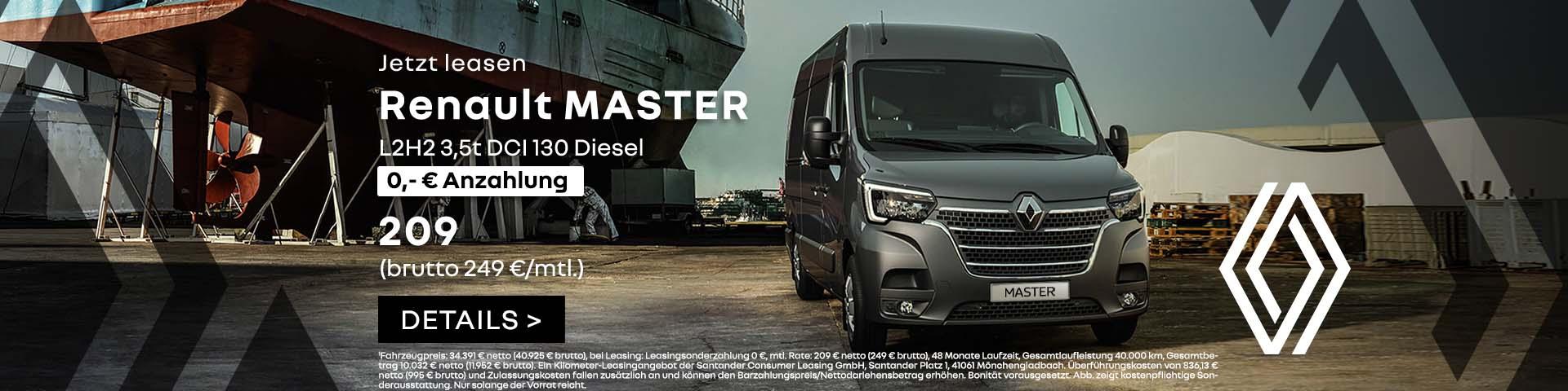 Autozentren P&A Renault Master