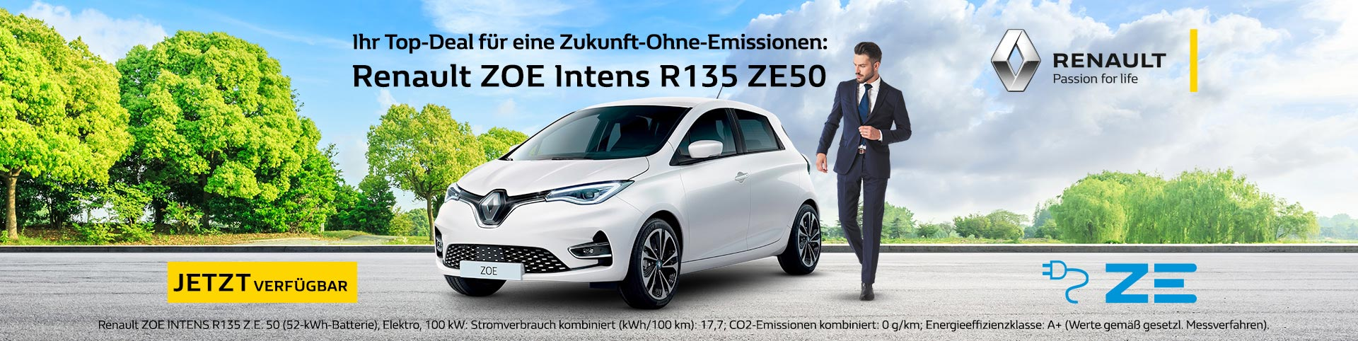 Renault Zoe Autozentren P&A-Preckel
