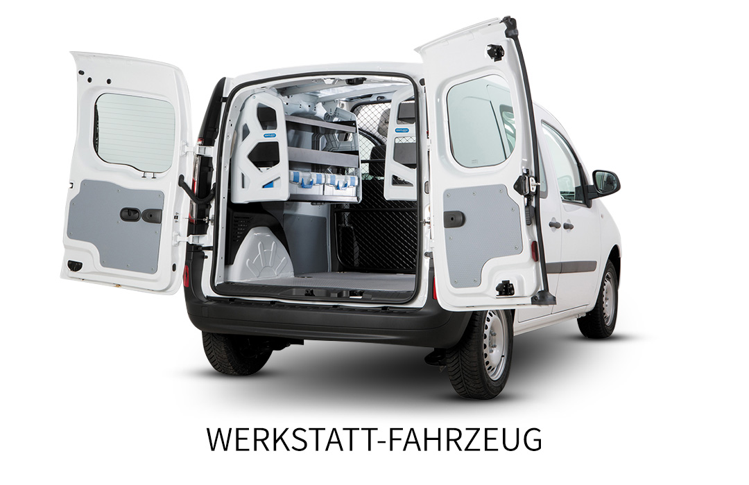 Renault Kangoo Rapid Werkstatt-Fahrzeuge