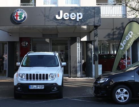 Jeep in Krefeld