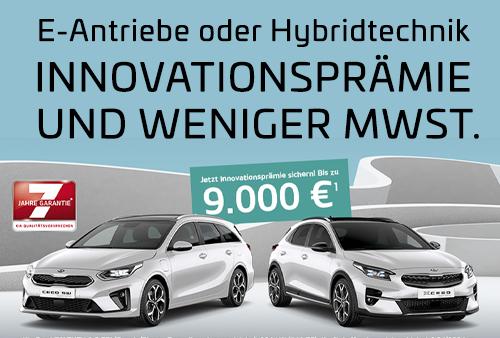 E-Antriebe oder Hybridtechnik