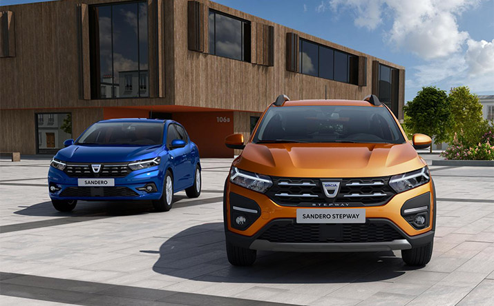 Dacia Sandero bei P&A-Preckel