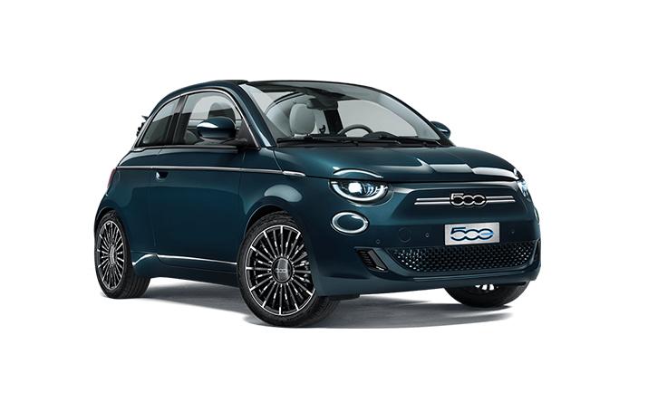 """Fiat 500 E """"La Prima"""" 100% elektrisch"""